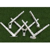 China Galvanized V Shape Barbed Wire Extension Arm Six Strands For Security Fence wholesale