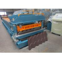 China Cr12 Mould Steel Cutter Roof Tile Roll Forming Machine 5.5KW ISO9001 wholesale