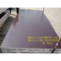 China Poplar / Hardwood Or Combined Core Film Face Plywood With Brown Film wholesale