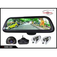 Buy cheap Android GPS 9.8 Inch Full HD Car Rearview Mirror Monitor Rear View System 4 Camera DVR Recording from wholesalers