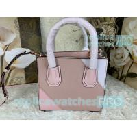 China New Knockoff Michael Kors Mercer Pink Genuine Leather Women's Bag wholesale