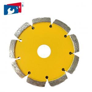 China Durable Tuck Point Diamond Blades , Hot Press Dry Cut Diamond Blade wholesale