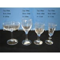 China Beautiful romantic design cocktail goblet glass, wine goblet glass for wholesale wholesale