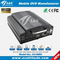 China 4CH AHD 720P Hard Disk 3G Mobile DVR for School Bus on sale