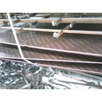 China Hardwood Core Concrete Shutter Plywood Overlay Brown Film With Logo wholesale