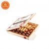 China Handmade Tea Bag Wooden Presentation Box Matte/Gloss Lamination Surface Finish wholesale