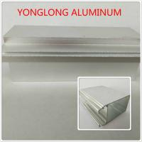 China Silver Color Polished Aluminium Alloy Profiles T5 For Window / Door Materials wholesale