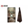 China Custom Print Retail Plastic Treat Bags Mid - Seal For Popcorn Snack Food wholesale