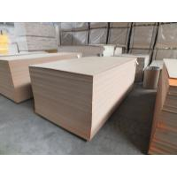 China 7.5mm - 30mm Melamine Faced MDF Board White Oak With Solid / Wooden Color wholesale
