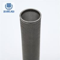 China 0.025-1.8 mm silver grey stainless steel household filter bucket wholesale