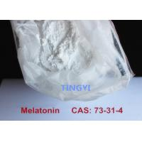 China Bodybuilding Anti Aging White Steroid Raw Powders Melatonine CAS 73-31-4  Promoting Sleeping and Whitening wholesale