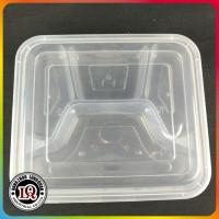 China Microwave Food Container with lid Divided Plate Bento Box wholesale