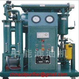 China Vacuum Transformer Oil Purifier Oil Purification wholesale