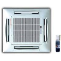 China Chilled water 4 way ceiling concealed cassette type fan coil units-200CFM 4 TUBE wholesale