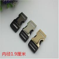 China RLOVE 19MM Gold Metal Side Fast Release Buckle by Zinc Alloy Wholesale wholesale