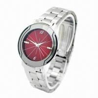 China Metal Watch with Alloy Case, Stainless Steel Strap and Japan Quartz Movement wholesale