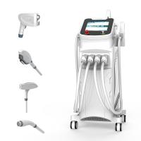 China 4 In 1 Professional Laser Hair Removal Machine Skin Tightening For Beauty Salon wholesale