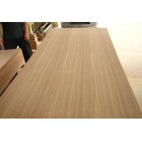 China Teak Veneer MDF , Red  Ash oak faced Veneered MDF for Furniture or Decoration wholesale