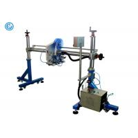 China Gantry One Heads Automated Label Applicator For Cardboard Box / Production Line wholesale
