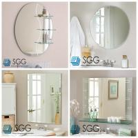China Clear silver mirror factory transparent bathroom mirror 4mm 5mm 6mm wholesale