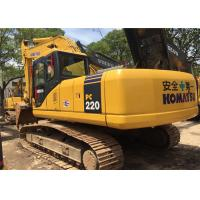 China 2009 Year 22 Ton Second Hand Diggers Komatsu PC220 - 7 With High Performance wholesale