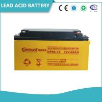 China Customized UPS Accessories 6V & 12V Valve Regulated Lead Acid Battery Non - Spillable wholesale