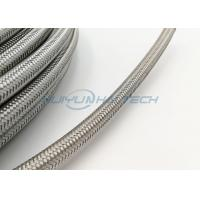 Quality Abrasion Resistant Stainless Steel Braided Sleeving For Wire Strong Protection for sale