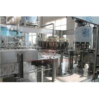 China Rotary Type 3 In 1 Combi Automatic Liquid Filling Machine For Plastic Bottle wholesale