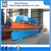 China Gantry Type Roll Bending Machine Colored Steel / Galvanized Plate Suit wholesale