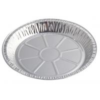 China Round Aluminium Foil Food Containers , Disposable Aluminium Foil Trays For Dish wholesale