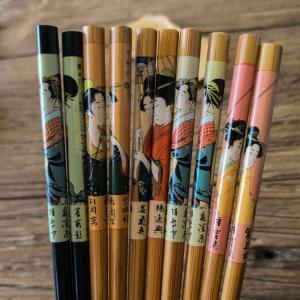 China Popular World Bamboo Chopsticks Gift Chopsticks With Printing Logo on sale