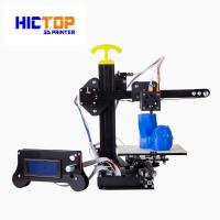 China Portable home desktop 3d printer printing size 130*150*100mm , 0.4mm Nozzle wholesale