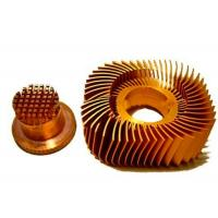 China Anodized LED Copper Heat Sink Precision Plated Nickel Surface wholesale