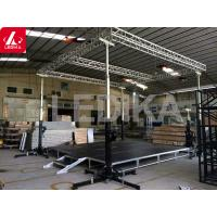 China Fireproof Steel  Truss Tower System Easy To Transport And Set Up / Truss Crank Stand wholesale