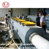 China pipe extrusion line SJSZ80/156 extruder   PVC CPVC UPVC pipe extrusion line wholesale