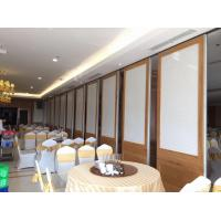China Top Hanging System Acoustic Foldable Partition Wall Anodized Aluminum 6063-T5 Frame wholesale