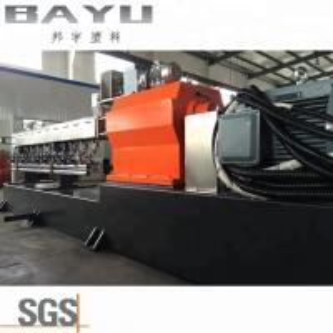 China Double Screw Designing Plastic Granules Granulator Machine wholesale