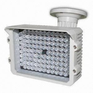 China IR Illuminator with 3-axis Bracket and 125m IR Night Vision Distance, 12V DC Input Voltage on sale