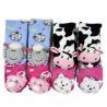 China Custom fancy indoor school Knitted Kids novelty full body 3D home socks for Winter wholesale
