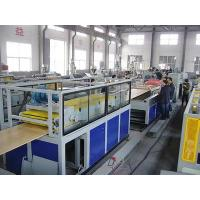 China Wood Plastic Composite PVC Door Plate Production Line , Door Panel Extrusion Line on sale