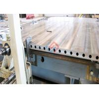 Quality hot platen with Thermal oil for hot press machine for sale