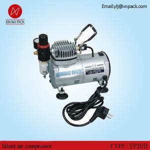 China TP20B Portable mini type air compressor of oil free vacuum pump wholesale