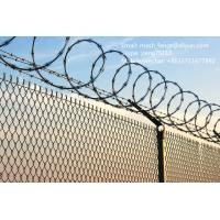 China High security concertina razor barbed wire fence wholesale