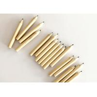 China Natural Wooden Golf Pencils With Or Without Erasers Round Shape 7.2mm Length on sale