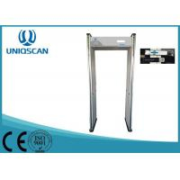 Alarm Shock Door Frame Metal Detectors Walk Through For Publich Security Inspection Manufactures