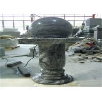 China Elegant Floating Marble Ball Fountain , Interior Decorative Stone Marble on sale