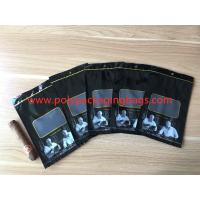 China Custom Loge Cigar Moisturizing Zipper Plastic Bag Size W135 x L255mm wholesale