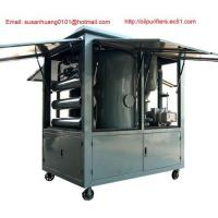 China Outside use vacuum Transformer oil purifier/ Dielectric oil filtration/ oil treatment/ purification wholesale