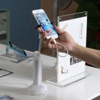 China COMER Standalone cellphone secuirty display holder with charge and alarm retail security system wholesale