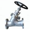 China Y Type Globe Valve Pressure Self Sealing Design Bolted Bonnet Rising Stem wholesale